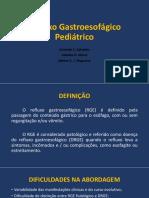 Refluxo Gastroesofágico Pediátrico