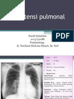 Hipertensi Pulmonalis -Randi