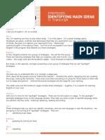 IEnglish 10-2 Identifying Transcript