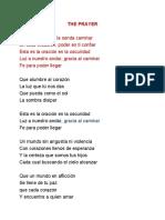 THE PRAYER espanol.pdf