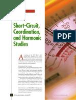 Short-circuit Coordination Harmonic Studies