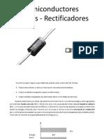 Semiconductor - Diodos - Rectificadores