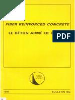 B40A - Fiber Reinforced Concrete