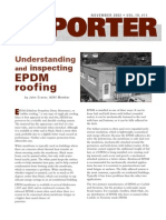 EPDMRoofing-Understanding and Inspecting