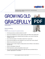 Growing Old, Age, Clothes - Intermediate - std