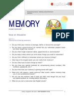 Memory std