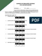 Analisis Poblacion Atendida JULIO 2018