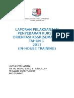 KSSR  SEMAKAN(INHOUSE2016)