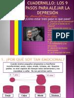 Cuadernillo Los 9 Pasos Para Alejar La Depresión