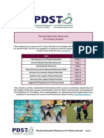Physical Education Resources for Primary Schools PDST