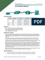 Cisco CCNA Net 125 LAB 6.5.1.2