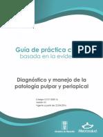 GPCDx MANEJO PATOLOGIAPULPAR