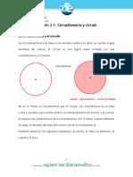 Circulo y circunferencia