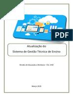Manual Do Sistema de Gestao de Ensino