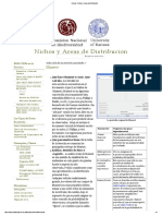 8.1. Maxent - Nichos y Áreas de Distribución