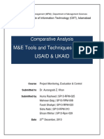 Comparative Analysis of USAID and UKAID
