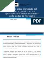 Encuesta sobre el impacto del entorno económico en las operaciones del sector empresarial en la ciudad de Maracaibo 2019