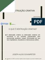 Destruição Criativa (Atividade 3)