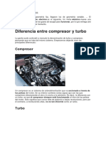 Turbo Compresores Informe