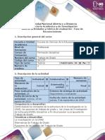 Guía de actividades y rúbrica de evaluación - Fase de Reconocimiento