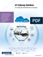 IoT Gateway Solutions 2014