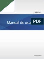 Manual NotePro SM-P905