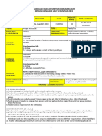 Form 3 Cefr Lesson Plan