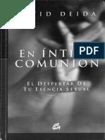 En Íntima Comunión - David Deida