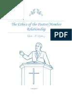 Ethics of the Pastor-Member Relationship Essay