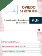 Ponencia, Procedimiento de Evaluación de Riesgos Psicosociales.
