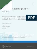 Pelegrín - El Fundamento Mágico Del Estado