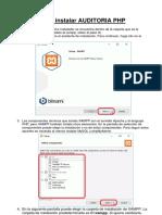 Como Instalar AUDITORIA PHP-convertido