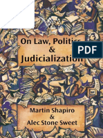 Shapiro y Stone Sweet_On Law Politics and Judicialization