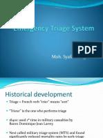 Emergency Triase Sistem