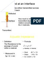 accoustic impedance.ppt