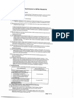 Checklist of Bidding Requirements for Government Infrastructure Projects