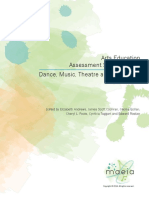 Arts Education Assessment Specifications