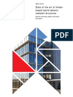 STATE OF THE ART OF TIMBER BASED HYBRID SEISMIC RESISTANT STRUCTURES