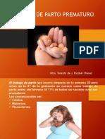 AMENAZA DE PARTO PREMATURO..pptx