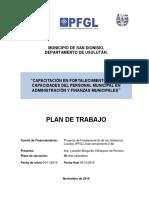 Capacitación en Fortalecimiento de Las Capacidades Del Personal Municipal en Administración y Finanzas Municipales