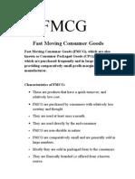 Intro FMCG