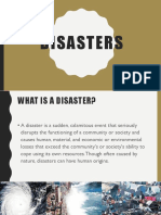 Different Types of Disasters