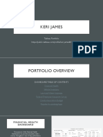 Keri James - Tableau Portfolio