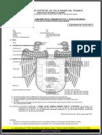 Certificado de Parametros Juan Vmt
