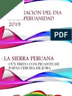 CELEBRACION DEL DIA DE LA PERUANIDAD 2019.pptx