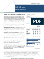 Goldman Sachs - Initiating Coverage report on Avenue Supermarts