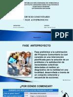 SERVICIO COM. ANTEPROYECTO (SI).ppsx
