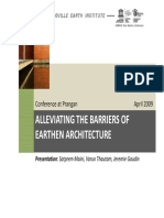 PranganPPT Alleviating Barriers of Earthen Architecture