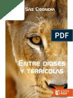 Entre Dioses y Terricolas - Carlos Saiz Cidoncha