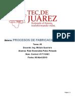 PROCESOS DE FABRICACION1 Tarea#3.docx